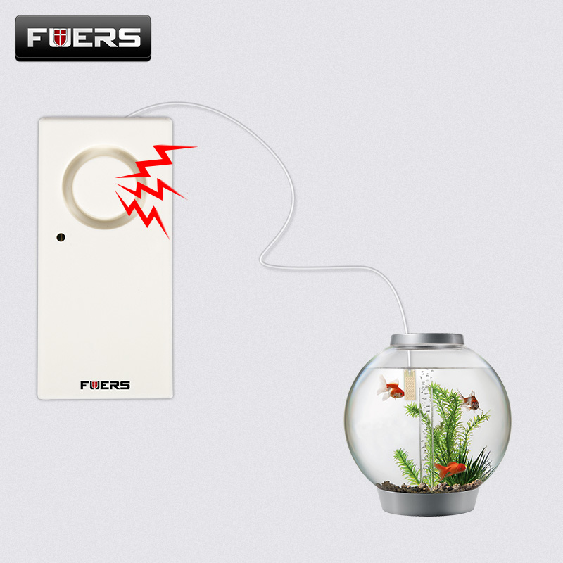 Fuers 120 db Overflow Water Alarm Leakage Sensor Bathroom Sink Full Water Reminder Sensitive Water Level Alarm Detector