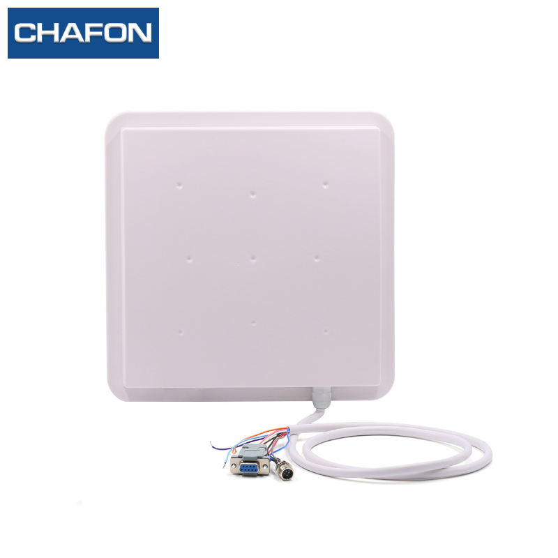 CHAFON uhf rfid reader integrated antenna built in read range up to 3 6m for parking
