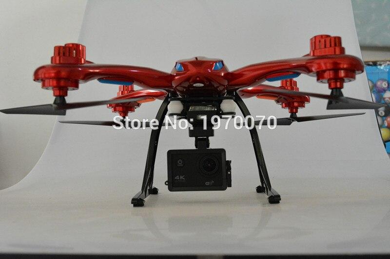 MJX X102H 2.4G RC Quadcopter Drone Con La Modalità Altitudine di Pressione Dell'aria alta Set FPV Macchina Fotografica di Wifi One Key Ritorno decollo Atterraggio - 5