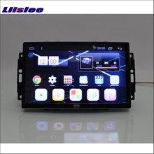 Liislee для Jeep Commander/Компасы 2006 ~ 2008 Android 6.0 навигации Радио стерео 10.2 «Экран нет dvd-плеер мультимедиа Системы
