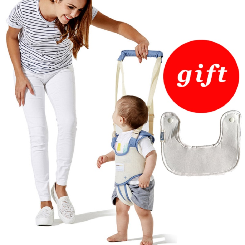 Baby harness Breathable Safe walking belt baby walker assistant Toddler Adjustable safety harness 2 In 1 leash for the child yourhope baby toddler harness safety learning walking assistant blue