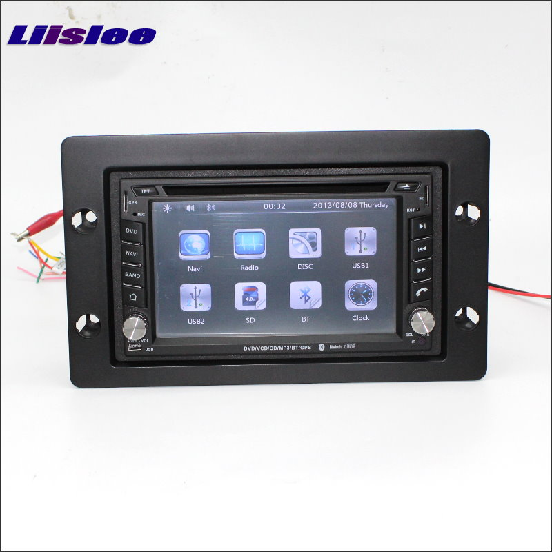 Liislee For SAAB 9 5 2006~2012 Radio CD DVD Stereo Player & GPS Navi Navigation System / Double Din Car Audio Installation Set