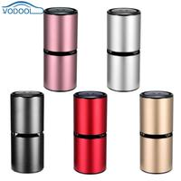 VODOOL Car Air Purifier Cleaner Anion Ionizer Odor Eliminator Dual USB Output Charger For Car Home Office Mobile Power