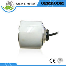 latest small light white electric wheel motor 3 inch hub motor 24V 150W electric scooter motor electric suilcase robot motor