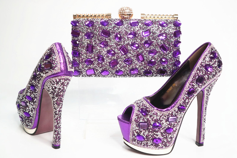 SB8034 free shipping elegant purple big stones clutches bag matching women shoes pumps lady shoes and bag matching set free ship cd158 1 free shipping hot sale fashion design shoes and matching bag with glitter item in black