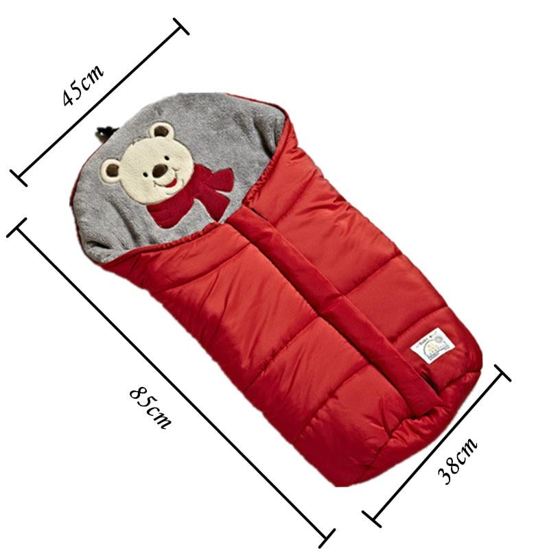 Envelope-For-Newborns-Waterproof-Baby-Sleeping-Bag-Winter-Baby-Sleepsack-For-Stroller-Cart-Blanket-Swaddle-Infant-Fleabag-5
