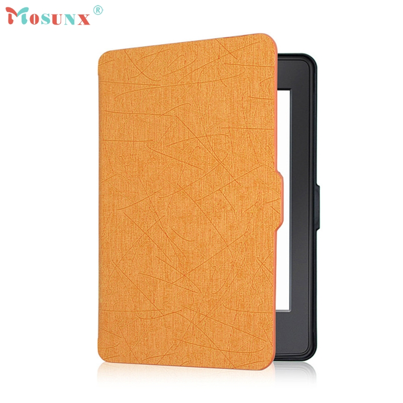 Подробнее о mosunx Hot Selling Magnetic Auto Sleep PU Leather Cover Case For Kindle Paperwhite (7th Generation) 2016 6 inch +Free mosunx hot selling magnetic auto sleep pu leather cover case for amazon kindle new 2016 8th generation 6 inch free gift