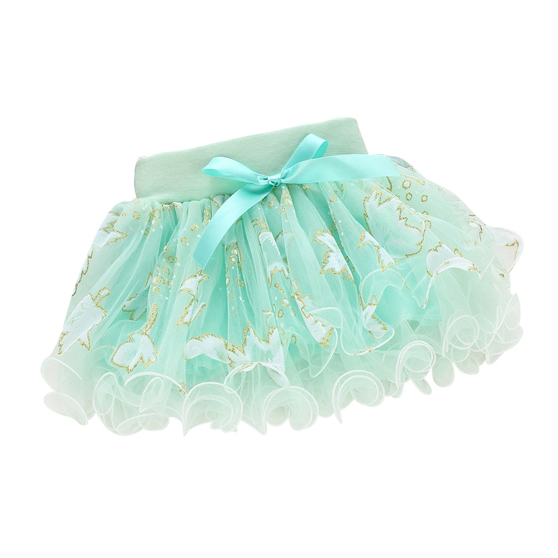 Skirt for Girl 2017 Baby Girls Kids Floral Tutu Skirt Bowknot Pettiskirt Party Ballet Dancing Skirt