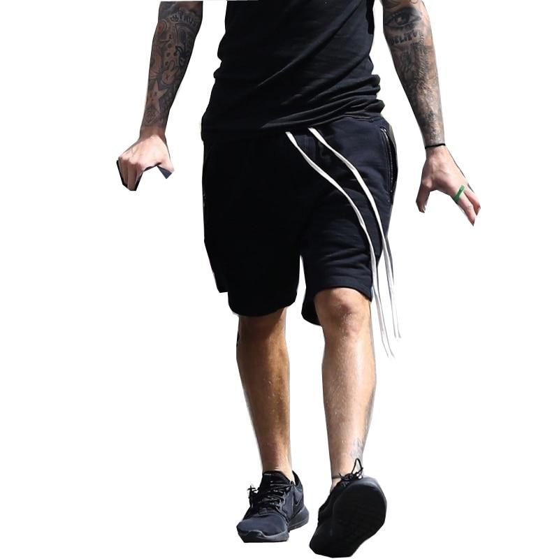 2018 mode haute rue hommes sweat court décontracté cool bleu rue porter vintage Shorts Hip Hop coton mode nouveau design