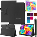 Classic Book Style Cover Ultra Thin Folio Folding Slim PU Leather Stand Case Cover for Samsung Galaxy Tab S 10.5 inch T800 T805