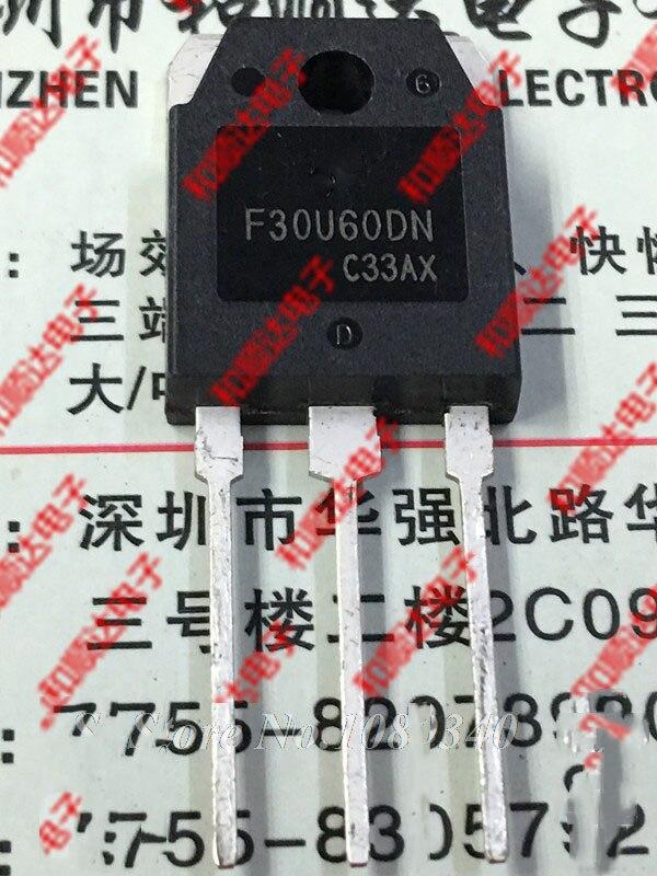 Free Shipping 5pcs/lot F30U60DN FFA30U60DN TO-3P New Original