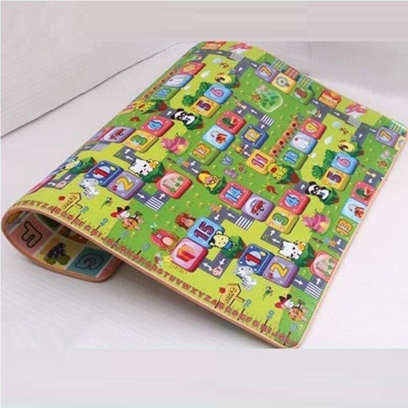 Tapis de jeu 1 cm 2 cm épaisseur tapis enfants développement tapis pour enfants tapis pour enfants tapis bébé tapis jouet pour nouveau-nés mousse Eva