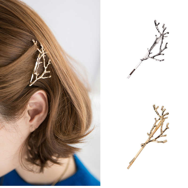 MISM Women Beauty Hairpins Metal Hair Clips Headwear Girls Vintage Hairgrip Barrettes Hair Accessories Wedding Princess Jewelry