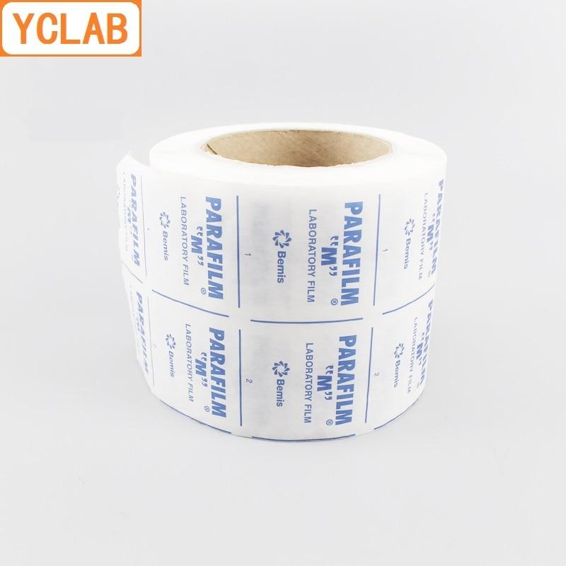 YCLAB BEMIS Parafilm 4inch*125feet 10.16cm*3810cm Roll Laboratory Film PM-996