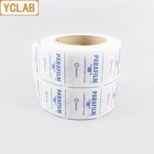 Yclab conjunto de filme de laboratório 125, película para rolo de 4 polegadas * 10.16 pés 3810cm * PM 996 cm