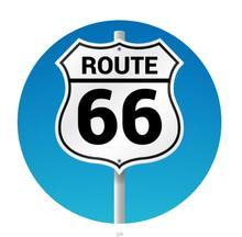 Route 66 Pop Socket