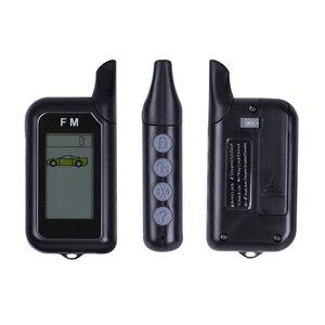 Image 3 - DIYV2 alarma bidireccional para coche, sistema de seguridad automático con alarma inalámbrica de sirena, sin cables, conexión a coche DC 12 24V