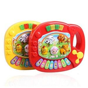 Image 3 - Capretti del bambino Musicale Educativi Pianoforte Fattoria Degli Animali Developmental giocattoli educativi Giocattolo di Musica giocattolo PER BAMBINI