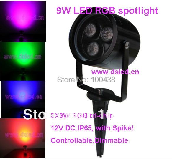 լավ որակի, բարձր էներգիայի RGB 9W LED - LED լուսավորություն - Լուսանկար 1