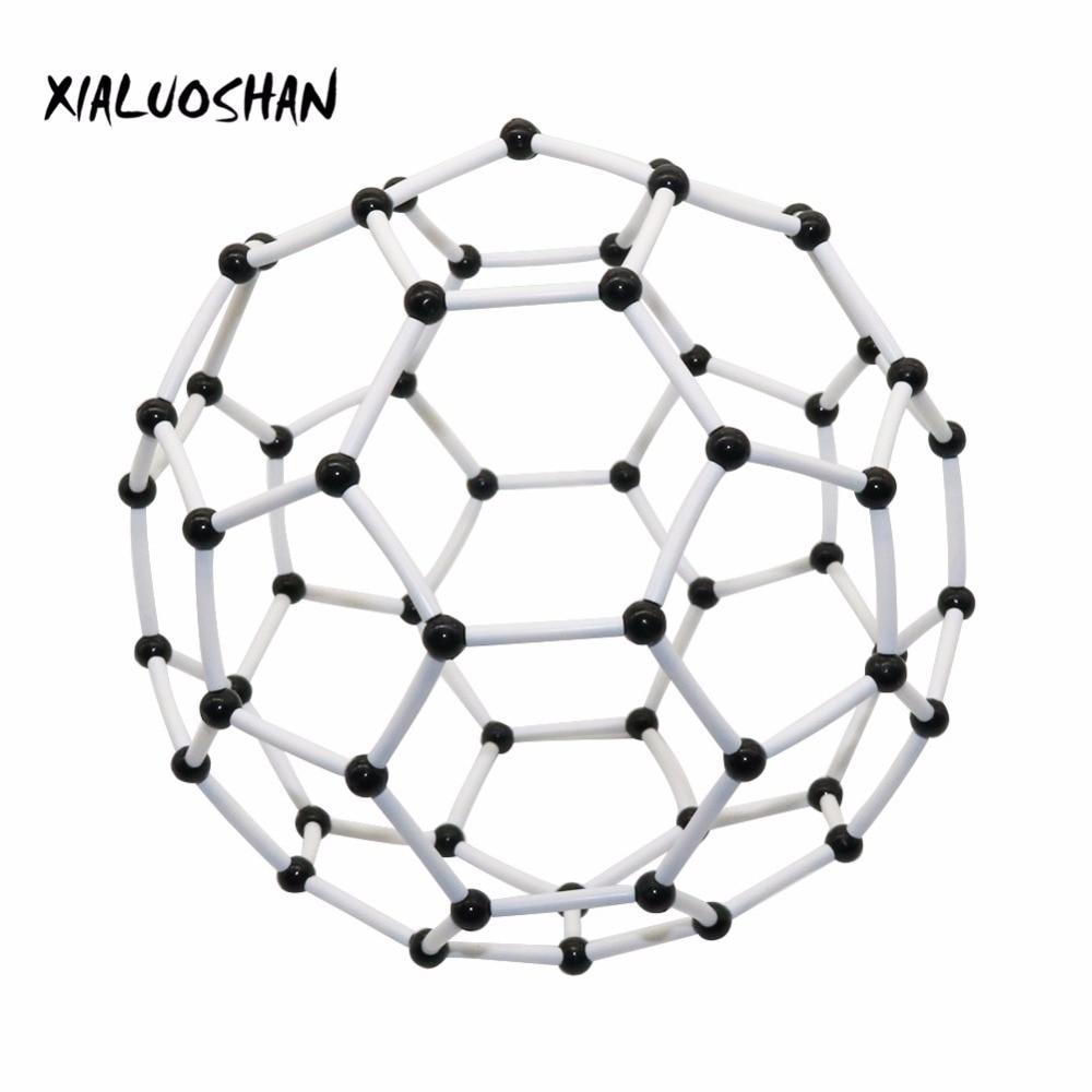 Organic Chemistry Molecular Model Diameter 9mm Carbon 60 Molecular Structure Model Carbon Framework Teaching Experiment Tool