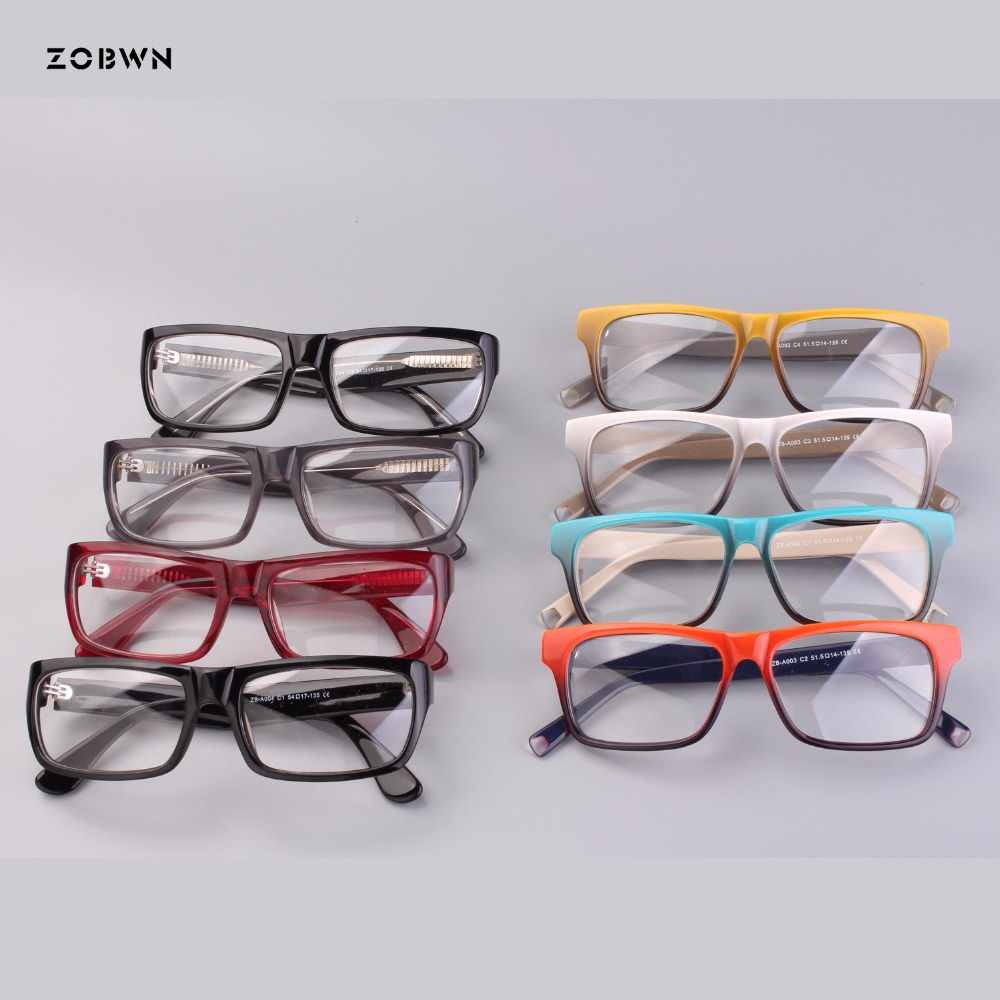 Mix wholesale optical glasses black red Marque Vintage Frame lunettes lentilles claires lecture gafas armacao oculos