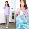 MamaLove maternity clothing Maternity sleepwear Maternity Pajamas Breastfeeding Sleepwear Nursing Pajamas for Pregnant Women