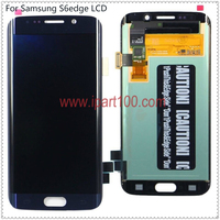 10pcs Lot 100 Tested Super Amoled For Samsung S6 Edge G925I G925F Lcd Display With Touch