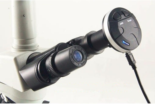 M pixels microscope camera microscope electronic eyepiece with