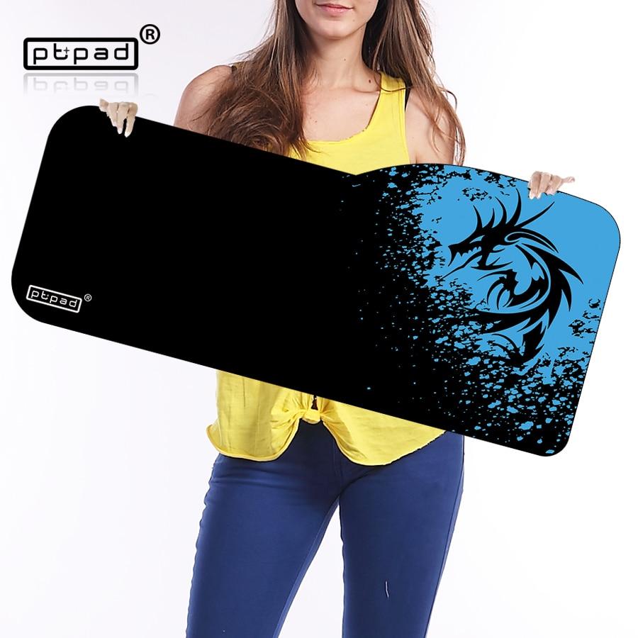 Pbpad ratón grande 730*330mm teclado velocidad Esterillas mousepad mouse pad escritorio Esterillas para el jugador del juego PC de escritorio del ordenador portátil