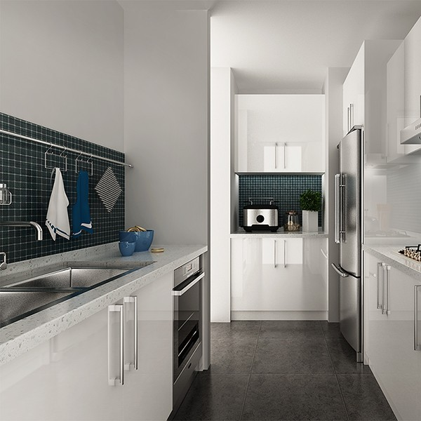 Australia Project Household Kitchen furniture Modern kitchen set ...