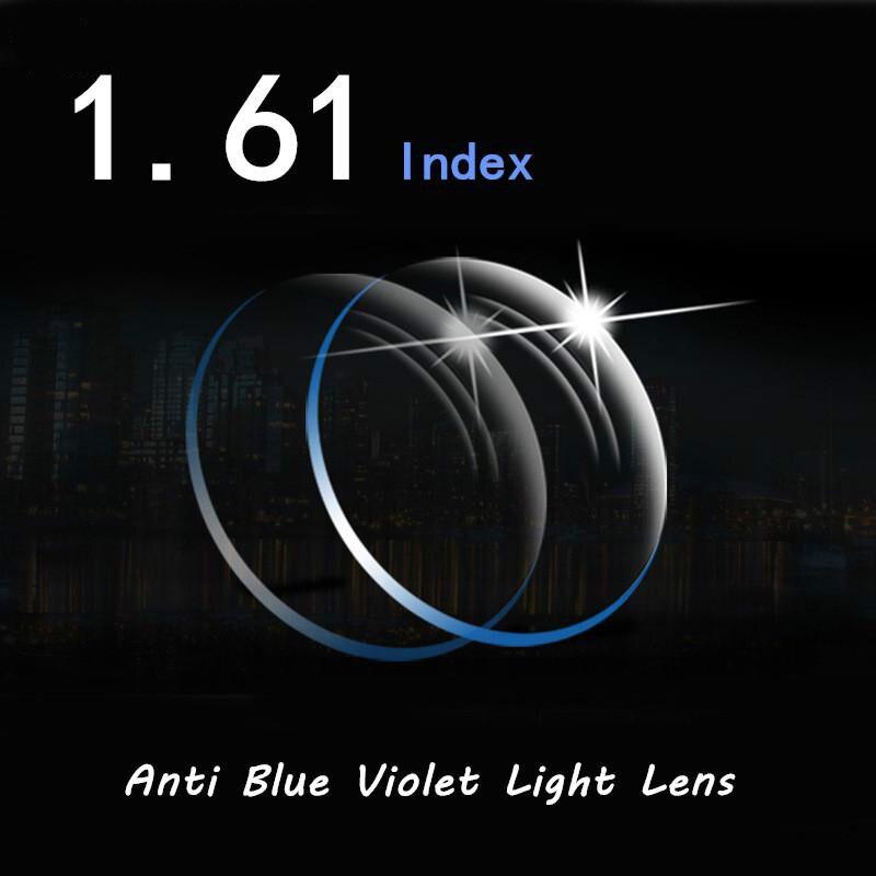 Viodream 1,61 оптический близорукость чтение рецепт офисный компьютер работника очки для смартфонов анти синий фиолетовый свет оптические стёкл...