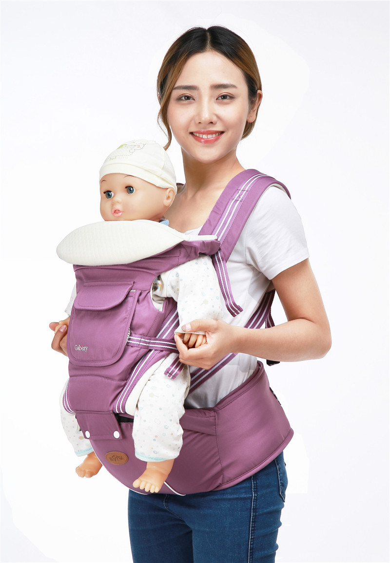 Baby 4 Seasons Strap Children\'s Waist and Breathable Multi-function Carrier Mother & Kids Activity & Gear Backpacks & Carriers 13