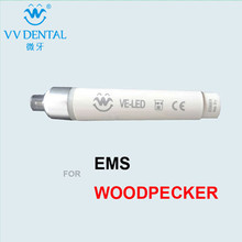 New 2pieces VE-LED handpiece dental instrument for EMS/Woodpecker dental unit teeth cleaning scaler dental equipment