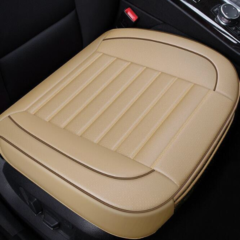 Car cushion small square cushion with flank four seasons general purpose PU leather artificial leather breathable small cushion in Automobiles Seat Covers from Automobiles Motorcycles