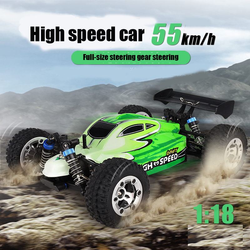 RB new listing 55KM / H RC car 2.4G wireless 1:18 four-wheel drive remote control off-road high-speed off-road vehicle