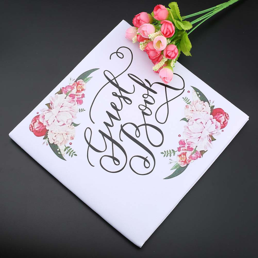 Personalized Guest Book Calligraphy Alternative Guestbook Custom Names and Date Wedding Journal HG99 hanaa ahmed emad eskander and aziza shalby alternative modalities for secondary osteoporosis