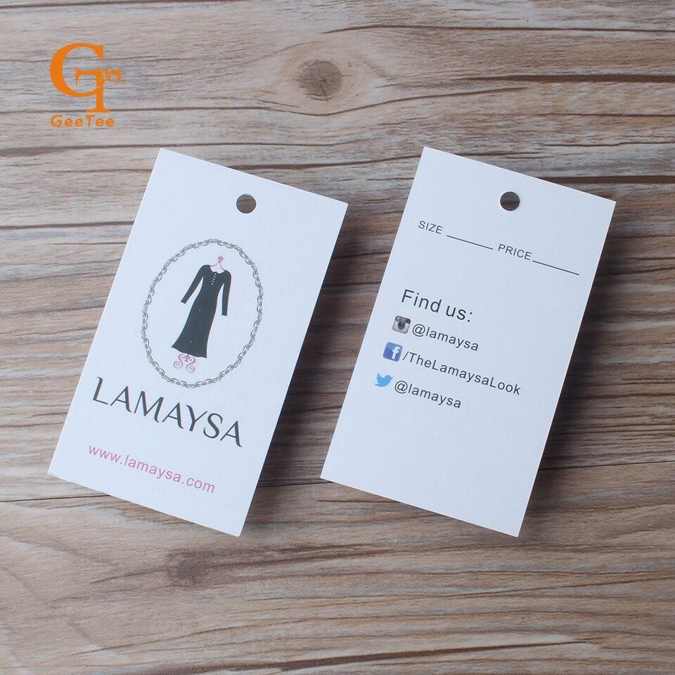 Aliexpress.com : Buy Custom hang tags/Clothing printed paper swing ...