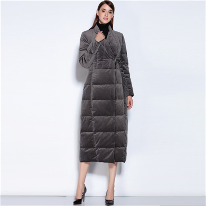 New winter big size female long   down     coat   women   down     coats   jackets warm woman   down   parka casual slim large size outerwear J708