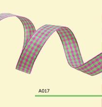1 Inch 25mm tartan ribbons
