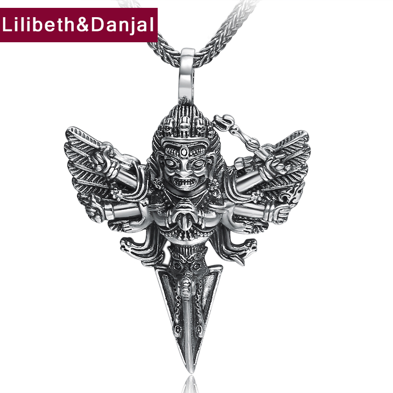 Thai Buddha Amulet Pendant 100% Real 925 Sterling silver Ethnic Vintage Necklace Pendant fine Jewelry 2018 New Arrival Gift FP55Thai Buddha Amulet Pendant 100% Real 925 Sterling silver Ethnic Vintage Necklace Pendant fine Jewelry 2018 New Arrival Gift FP55