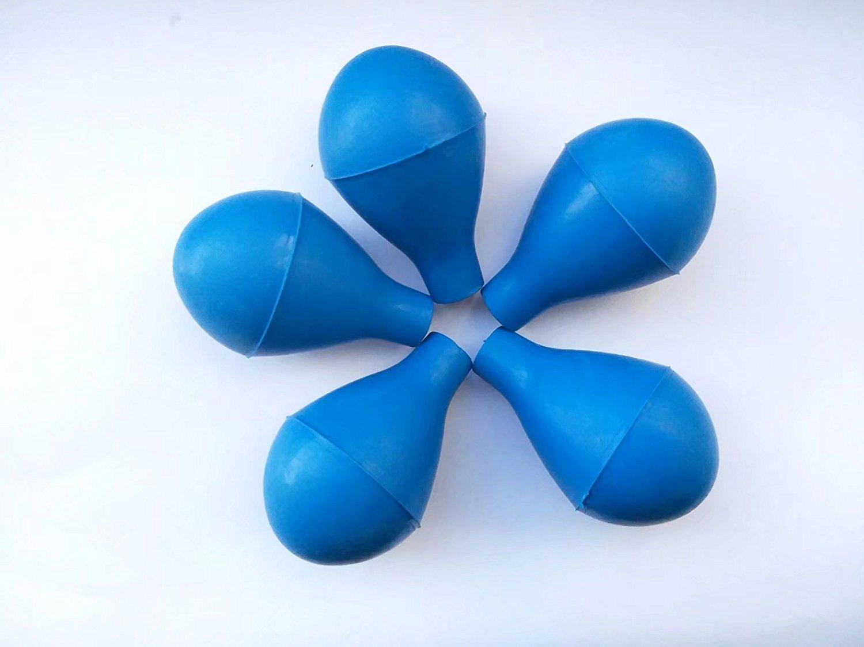 5 шт. всасывающие шарики для пипетки 3/5/10/15/20 мл pear shaped pipette rubberpipette bulb  