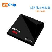 10 шт./лот мини A5X плюс Android 9,0 Smart ТВ BOX 2 Гб 16 GB RK3328 Rockchip 2,4G WI FI 100 м LAN HD медиаплеер Поддержка телеприставка IPTV