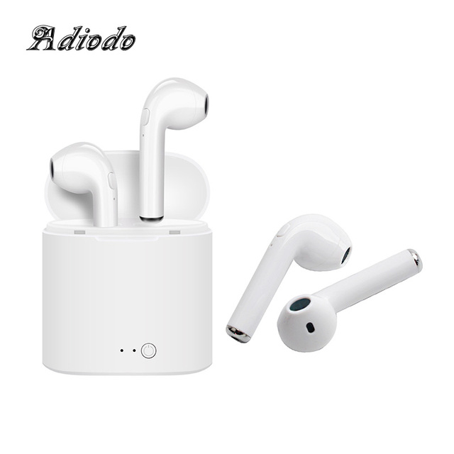 Wireless Bluetooth headset i7s tws i9 Hands free stereo Earbud earphone with mic Double earpiece for iphone Samsung xiaomi phone