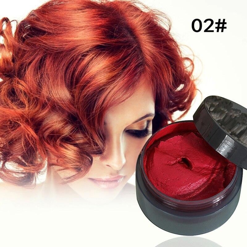 Haarfarbe Offen Haar Werkzeug Haar Modellierung Temporäre Haar Dye Creme Wachs Schlamm
