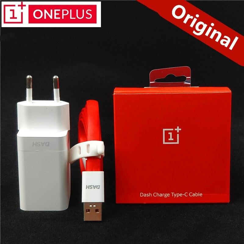 Original EU ONEPLUS 6 Dash cargador One plus 6 t 5 t 5 3 T 3 Smartphone 5 V/4A carga rápida USB adaptador de corriente de pared