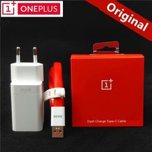 Original EU ONEPLUS 6 Dash charger One plus 6t 5T 5 3T 3 Smartphone 5V/4A Fast charge USB wall power adapter(China)