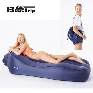 BEAUTRIP Inflatable Lounger Air Outdoor Beach Chair Bag Bed