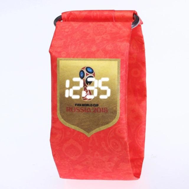 Digital Watches Women Men Unisex Sports Clock 2018 New Design Paper LED Wristwat