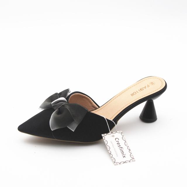 Women's Slip On Pump Heels Shoes