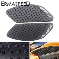 For YAMAHA YZF R1 2009 2014 Pair Motorcycle Rubber Fuel Tank Non Slip Pads Knee Side